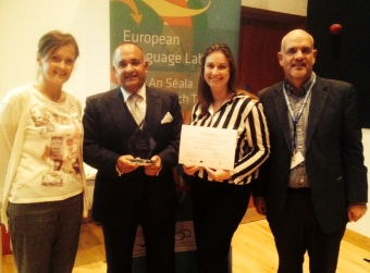 MEDISIGNS team receive the ELL award