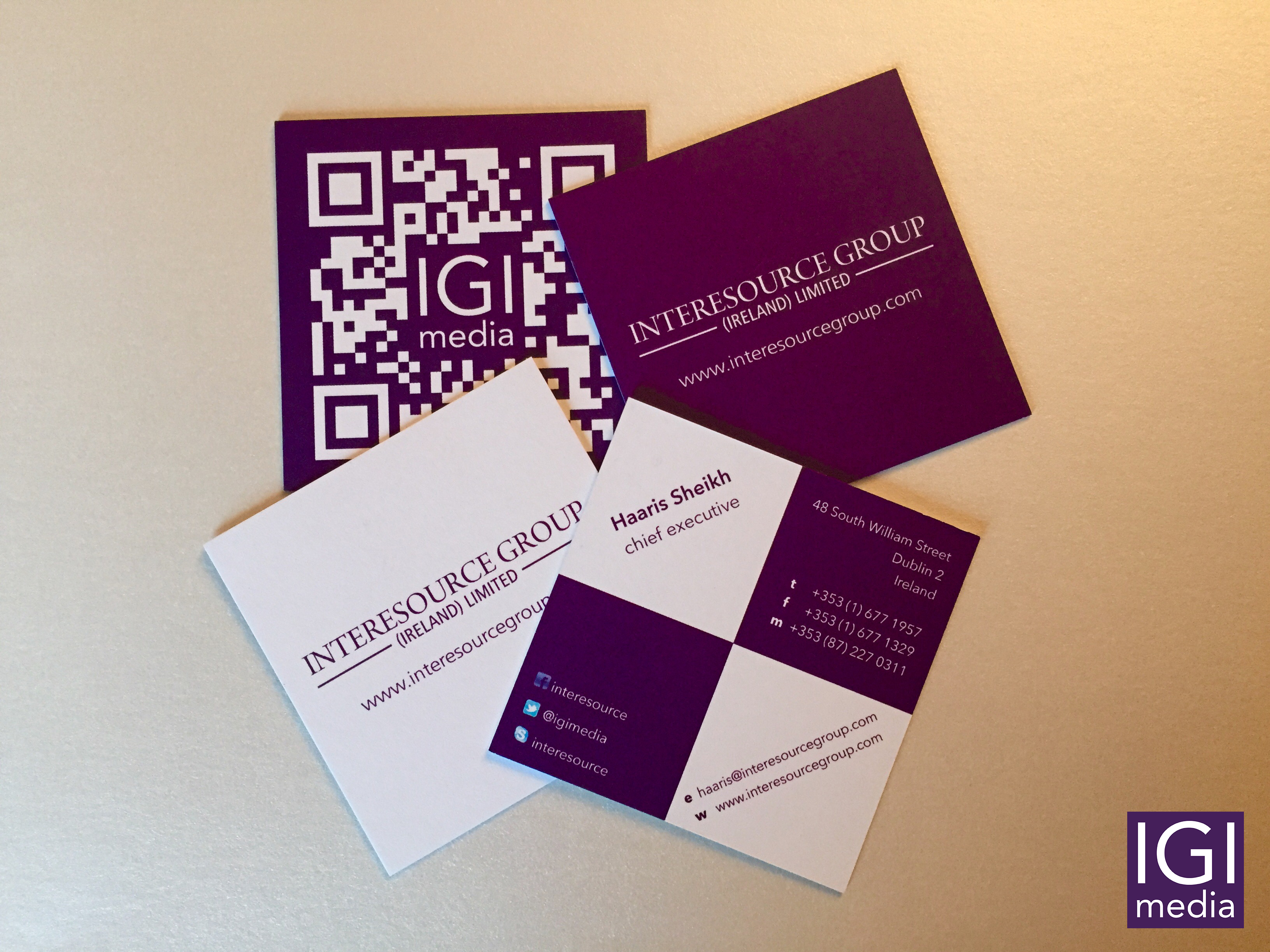 Sublimely elegant luxurious square business cards interesource cards reheart Image collections